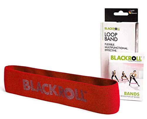 BLACKROLL Unisex – Erwachsene Loop Band-A001390 Band Set, rot/blau, One Size