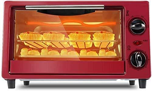 Mini-horno, y el contador de parrilla, los pequeños hornos eléctricos portátiles, de...