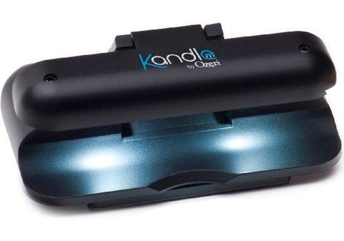 Kandle de Ozeri - Lámpara con luz LED de lectura diseñada para libros convencionales y electrónicos.