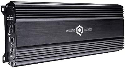 SoundQubed S1-2250.1 2300W RMS Single-Channel (Monoblock) Class D Car Audio Amplifier with Remote Gain Control