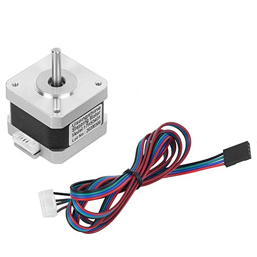 【𝐒𝐩𝐫𝐢𝐧𝐠 𝐒𝐚𝐥𝐞 𝐆𝐢𝐟𝐭】 Durable with 4 Pin Cable Practical Stepping Motor, 17HS3401 Stepper Motor, for 3D Printer