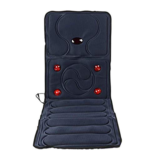 LIYONG Comfortable Massage Cushion Electric Multifunctional Far Infrared Massager Cushion Chair Blanket Cushion Home Physiotherapy Instrument Heating (Color : Picture, Size : 165x58x3cm) HLSJ