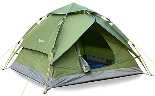 Sportneer 2 Person Tent with 10 x Heavy Duty Stakes...