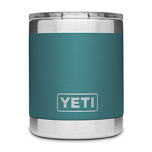 YETI River Green Rambler Low Ball 10 Ounce, 1 EA