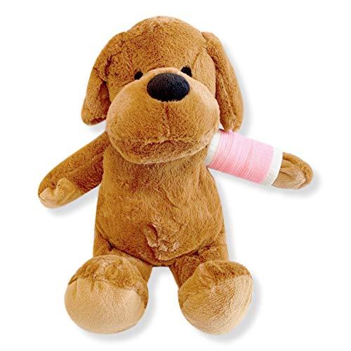 15' Broken Arm Higgy Dog (Pink Cast; Left Arm)