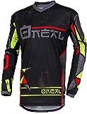 Oneal ELEMENT JERSEY Equipación para Montar En Bicicleta y Motocross, L, Amarillo