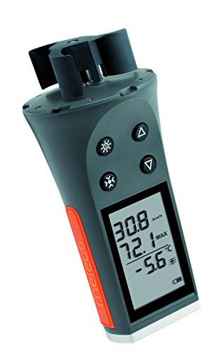 Skywatch JDC Meteos Wind Meter, grau/orange