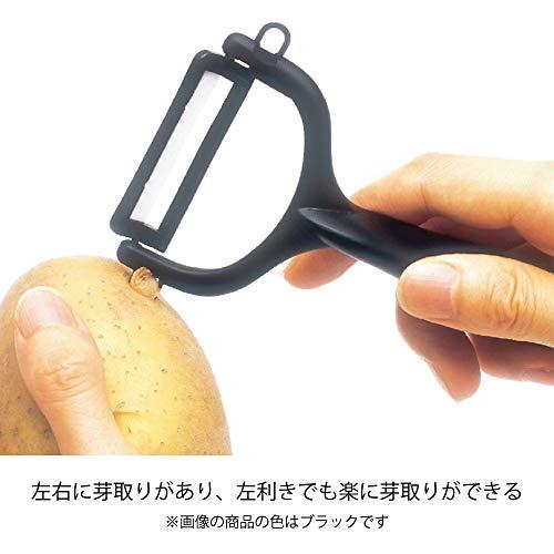 『京セラ ピーラー ファイン セラミック サビない 除菌 漂白 OK 切れ味 長持ち イエロー 日本製 Kyocera CP-99 YL』の6枚目の画像