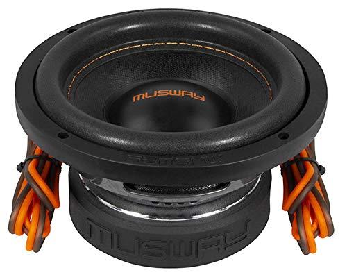 Musway MW622-16,5 cm passieve subwoofer met 300 watt (RMS: 150 watt)