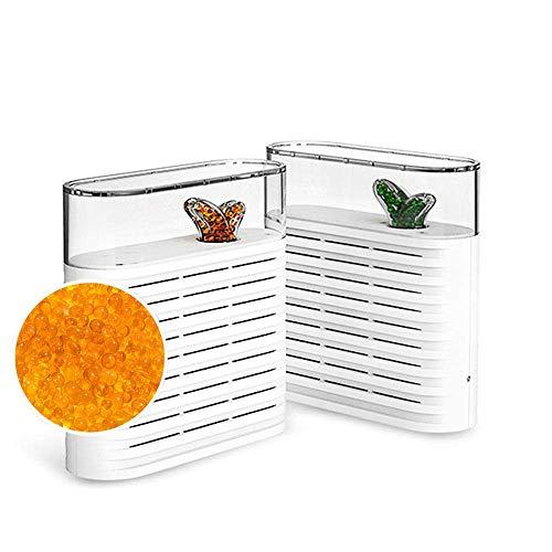 HAOT Mini deshumidificador eléctrico portátil de 150 ml Reuso Absorbente de Humedad Planta Recargable Secador de Aire reciclable - para el hogar Dormitorio Cocina Armario de Oficina Caja de zapat