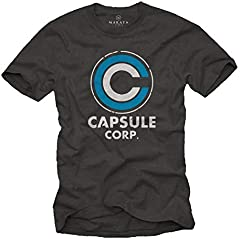 Camiseta para Hombre - Capsule Corp Goku Anime Manga