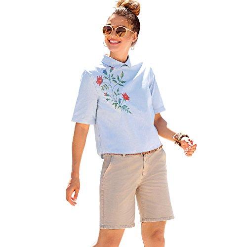 VENCA Bermuda Pinzas en la Espalda Mujer by Vencastyle - 010160