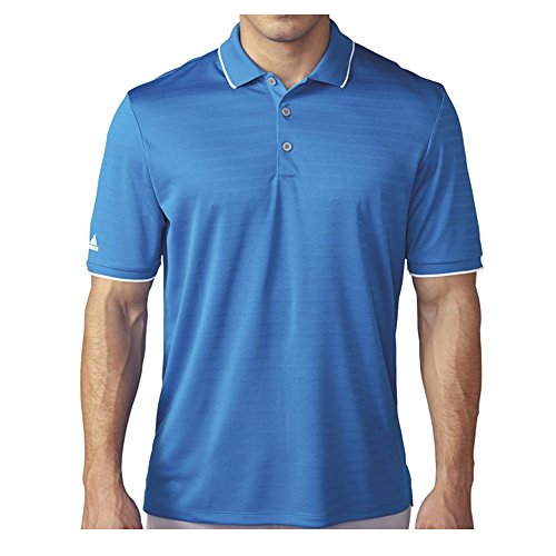 adidas Golf Herren Polo Shirt Climacool Trinkgeld Club, Herren, Shock Blue, X-Large