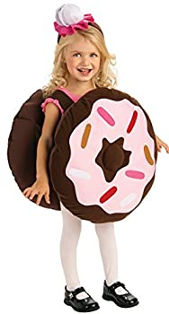 Rubie s baby girls Trick Or Treat Sweeties Dunk Your Doughnut Costume Party Supplies Pink Toddler US