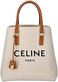CELINE (セリーヌ) ホリゾンタル キャンバス トートバッグ CABAS M ロゴプリント トートバッグ 19216 2BNZ 02NT [並行輸入品]
