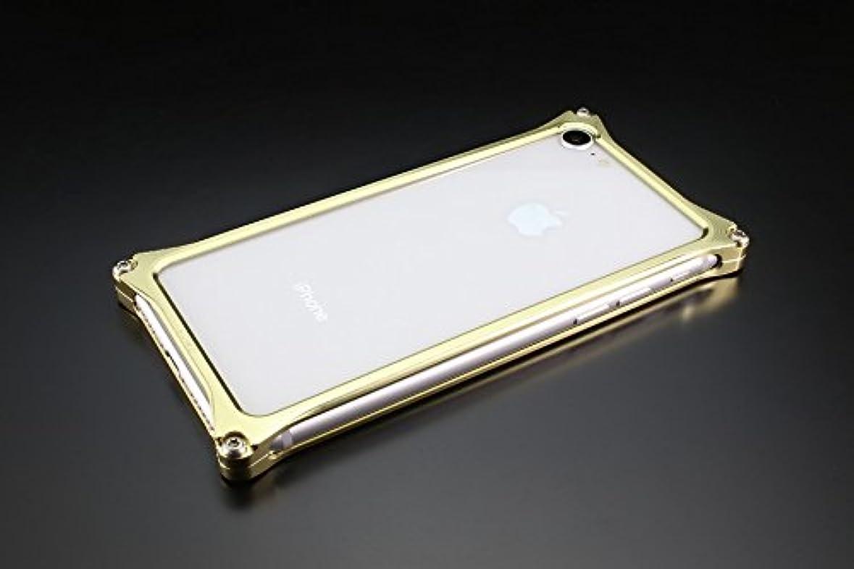 ギルドデザイン iPhone 8/7用アルミ製ソリッドバンパーケース シャンパンゴールド GI-402CG