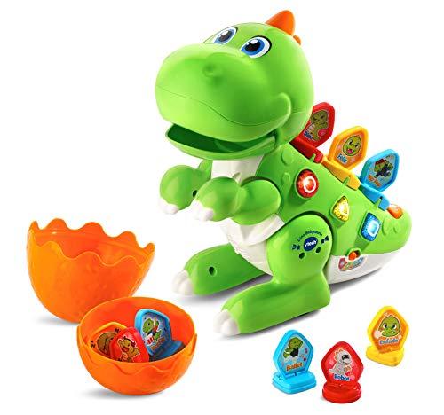 VTech - Dino Babysaurio Travieso, Simpática Mascota Interactiva Acomp