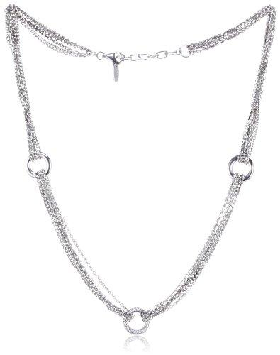 Esprit Damen-Halskette alliance 925 Sterlingsilber 45cm ESNL91940A430