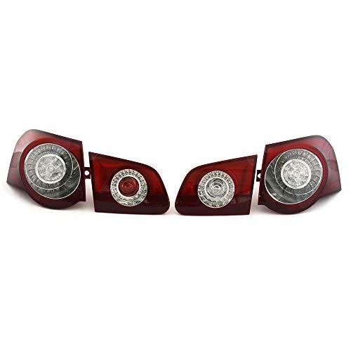 Original Passat B6 3C Variant R36 LED Schlussleuchten Set Tuning Rückleuchten Rücklichter, abgedunkelt, zur Nachrüstung