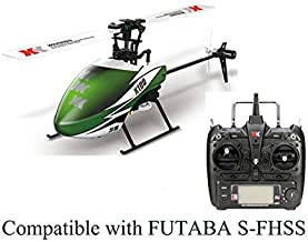 Studyset RC Drone XK K100 6CH 3D 6G System Brushless Motor RC Helicopter Gift for Kids