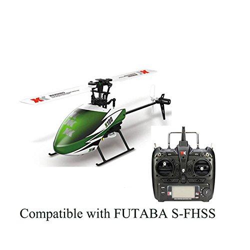 ACHICOO XK K100 6CH 3D 6G System Brushless Motor RC helicóptero Gag-Geschenke para niños
