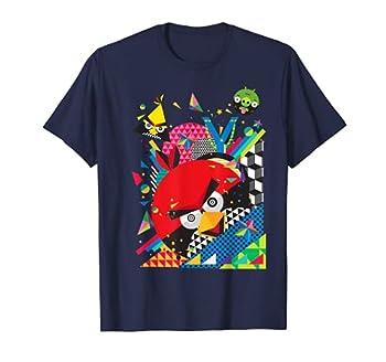 Angry Birds Geometric Pop Art Official Merchandise T-Shirt