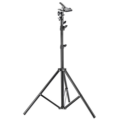 Neewer 6 feet/190 Centimeters Photo Studio Photography Light Stand with HeavyDuty Metal Clamp Holder for Reflectors