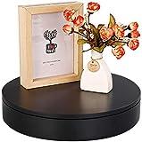 BAOSHISHAN Base Giratoria Eléctrica 20cm 20kg Soporte de Exhibición Plataforma 360° Negro con Mando a Distancia para Grabar Vídeo