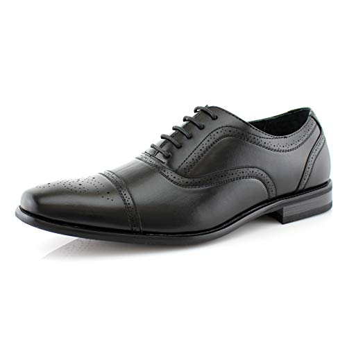 Delli Aldo Evertt M19006 Mens Cap-Toe Dress Formal Classic Shoes