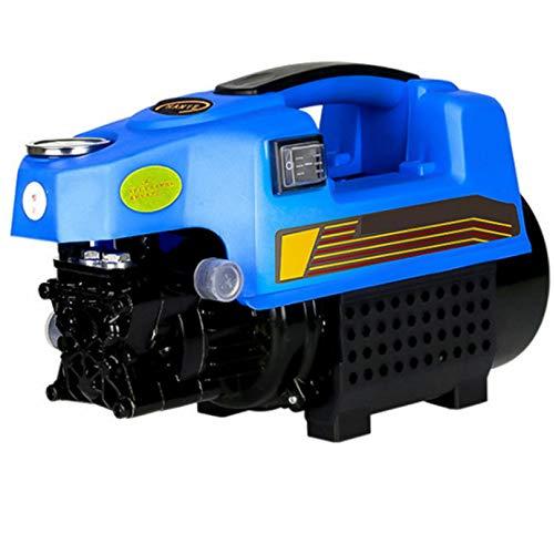 Limpiadora A Presion Agua Portatil,Hidrolimpiadora Profesional Hidrolimpiadora De Alta PresióN Para Exteriores Motor De InduccióN Brushless Para Lavado De Autos, Terraza Y Hogar,2200W+LongGun-10m