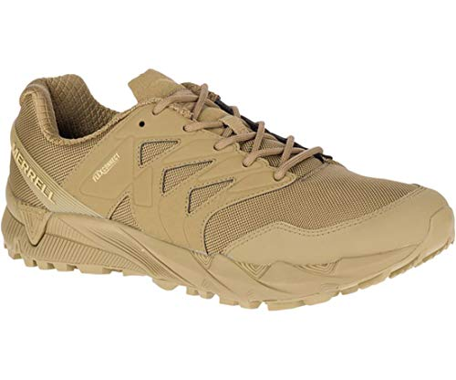Merrell Agility Peak Tactical Unisex Breathable Shoes, Coyote, 11.5