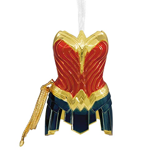 Hallmark Christmas Ornament, DC Comics Wonder Woman Outfit, Metal