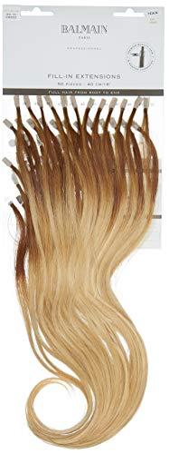 Balmain Extensions de cheveux humains 50 pièces longueur 40 cm 9G.10 Om blond clair doré ombré 45 g
