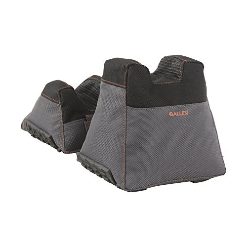 Allen Company Thermoblock Front & Rear Filled Bag Set , Black/Gray