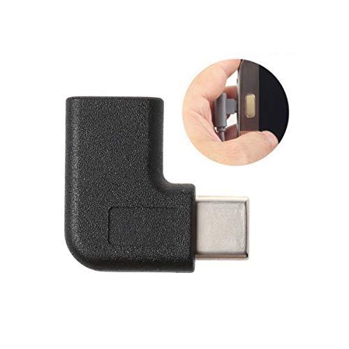 Greatangle (2 Stück) 90-Grad-USB C Typ C-Adapter für Stecker auf Buchse Rechts- und...