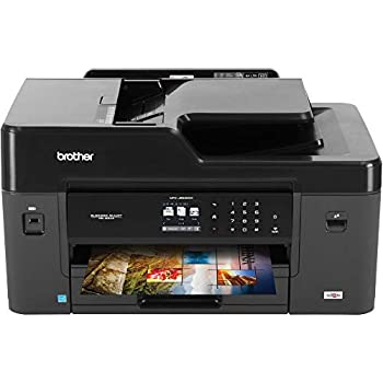 Brother MFC-J6530DW All-in-One Color Inkjet Printer Wireless Connectivity Automatic Duplex Printing Amazon Dash Replenishment Ready