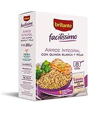 Brillante Facilissimo Arroz Integral con Quinoa Blanca y Roja 5 bolsitas X 50 gr