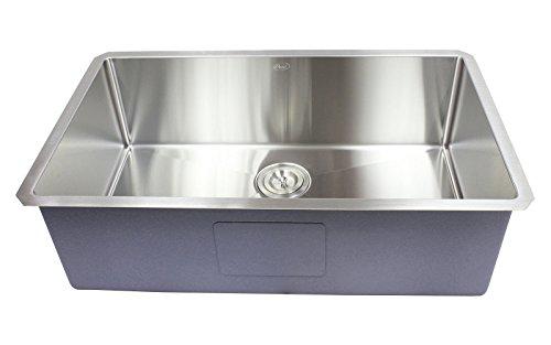 Ariel 32' x 19' Single Bowl Undermount Kitchen Sink