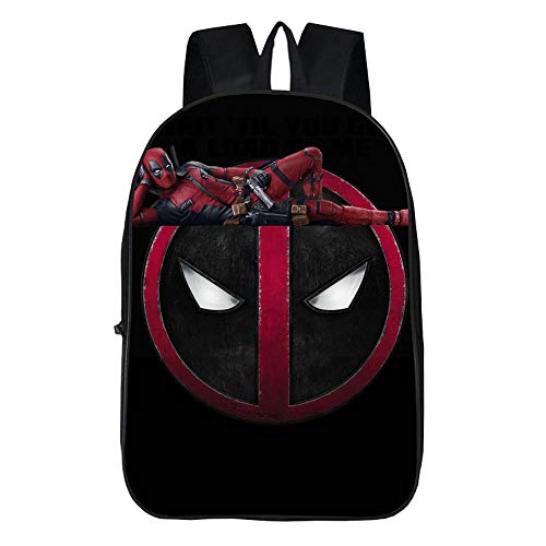 Grateful for everything Campus Backpack Spider-Man Waterproof Large Capacity Unisex Bag Backpack Backpack 6-12 Years Color : D