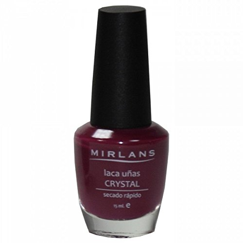Mirlans, Laca uñas secado ultra rápido 15ml - Color Borgoña