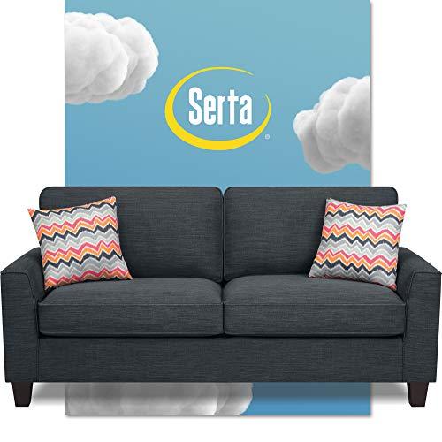Serta Deep Seating Astoria 78' Sofa in Concord Charcoal