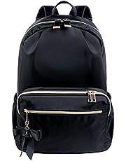 リュック レディース マザーズリュックバッグ おしゃれ 大容量 防水 通勤 通学 軽量 旅行 大人 かわいい 人気 りぼん A4 ナイロン バックパック リュックサック ママリュック 黒
