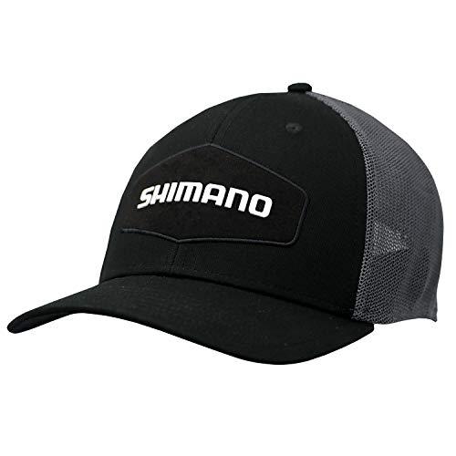 SHIMANO Trucker Style California State Cap, Black, One Size