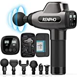 Muscle Massage Gun, RENPHO 20 Speeds C3 Deep Tissue Muscle Massager, Powerful Percussion Massager for Athletes with Portable Case for Home Gym Workouts, Back Neck Shoulder Soreness Tension Relief