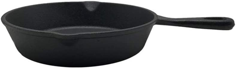 Mail order ECSWP Not Bargain sale Sticky Frying Pan Pot Stone Iron Layer Cast