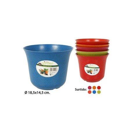 Little Garden – Pot de fleurs, – Bambu-, Ã ˜ 18,5 cm