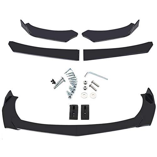 Foxglove Frontspoiler Lippe | Auto Frontstoßstange Splitter Lip Spoiler | Universal Spoilerlippe Diffusor | Autoantikollisionsschutz Body Kit