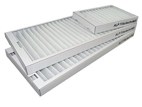 10 Stück G4 Filtersets G3 Alternativ für z.B. Vaillant-RecoVair 275-300 -bestehend aus: 2 x große G4 Filter und 1x kleine Bypassfilter - Vaillant RecoAir 275/350 / Westaflex 300/400WAC Wärmerückgewinnung
