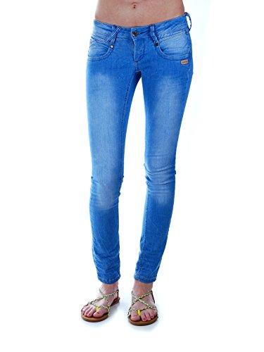 Gang Damen NENA Denim Jeans, Blau (Bright Blue wash 2824), W28/L32