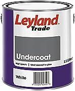 Leyland Trade 264785 Undercoat, White, 2.5 Litre